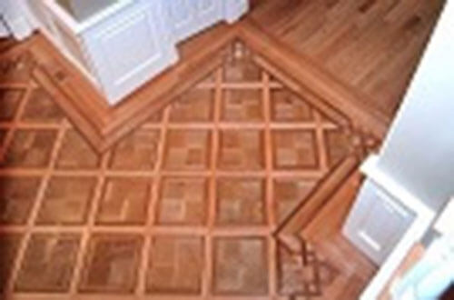 Patterned & Parquet Wood Flooring